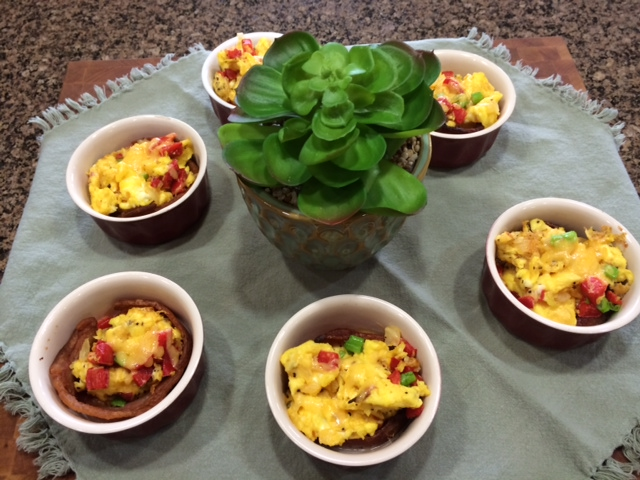 Desert Scramble Breakfast Bowls